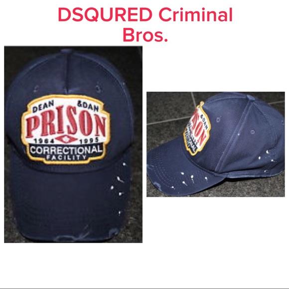 720fc9981 🎀DSQUARED Criminal Bros. Baseball Hat🎀